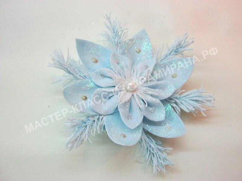 мастер-класс новогоднее украшение из зефирного фоамирана,пошаговое фото.