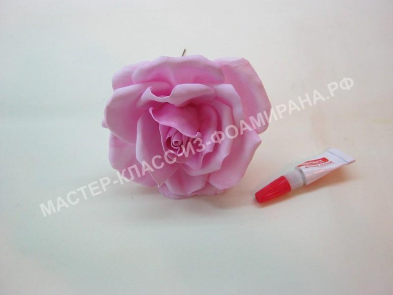 формирование цветка розы