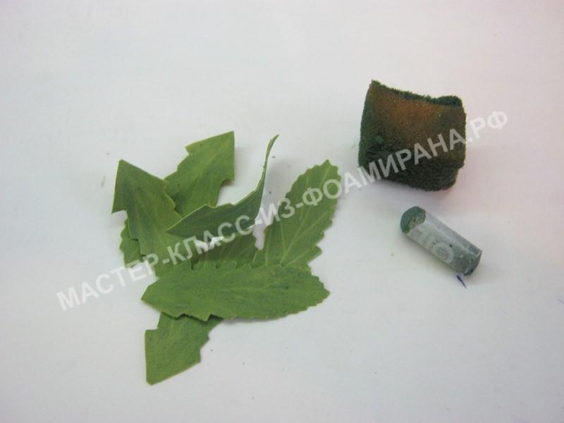 формирование листочков