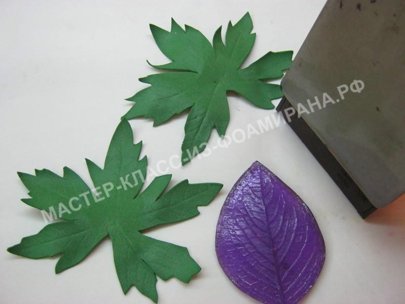 обработка листьев