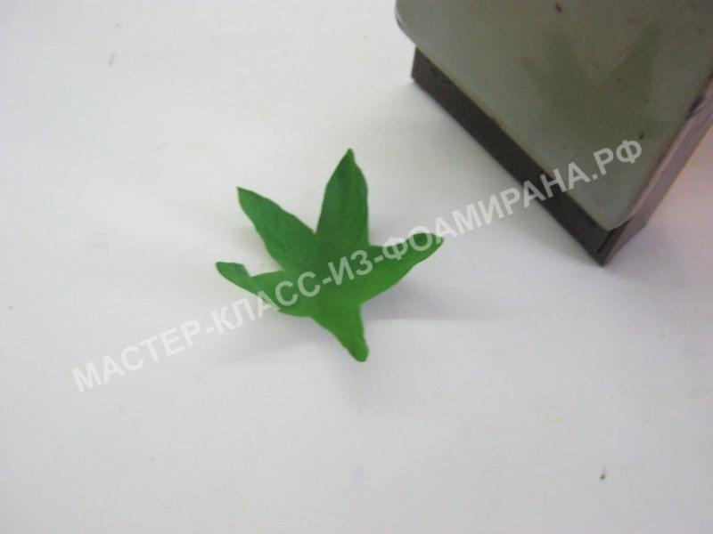 обработка чашелистика