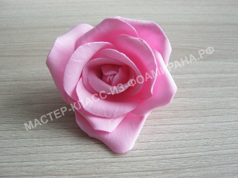 готовая роза