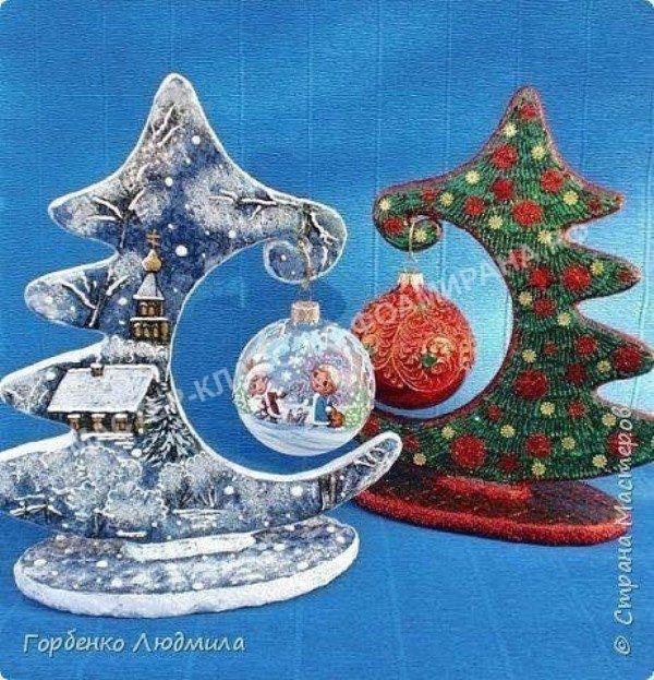 Мастер-класс декор новогоднего стола